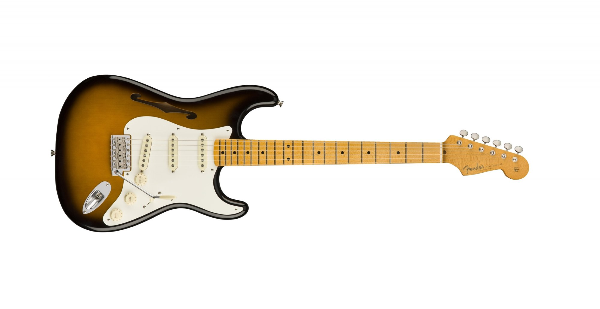Fender Eric Johnson Strat Thinline 2 Color Burst