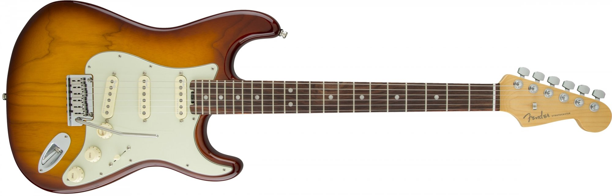 Fender American Elite Stratocaster PF Tobacco Burst