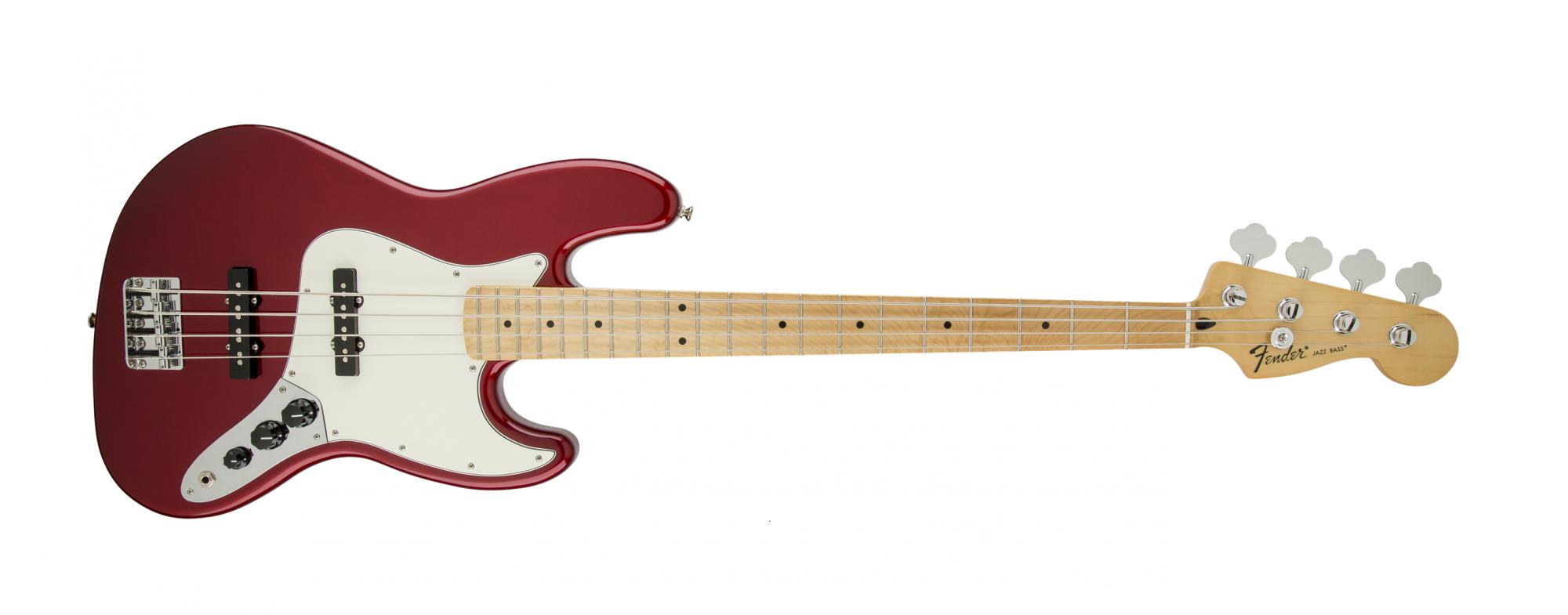 Fender Standard Jazz Bass MN Candy Apple Red
