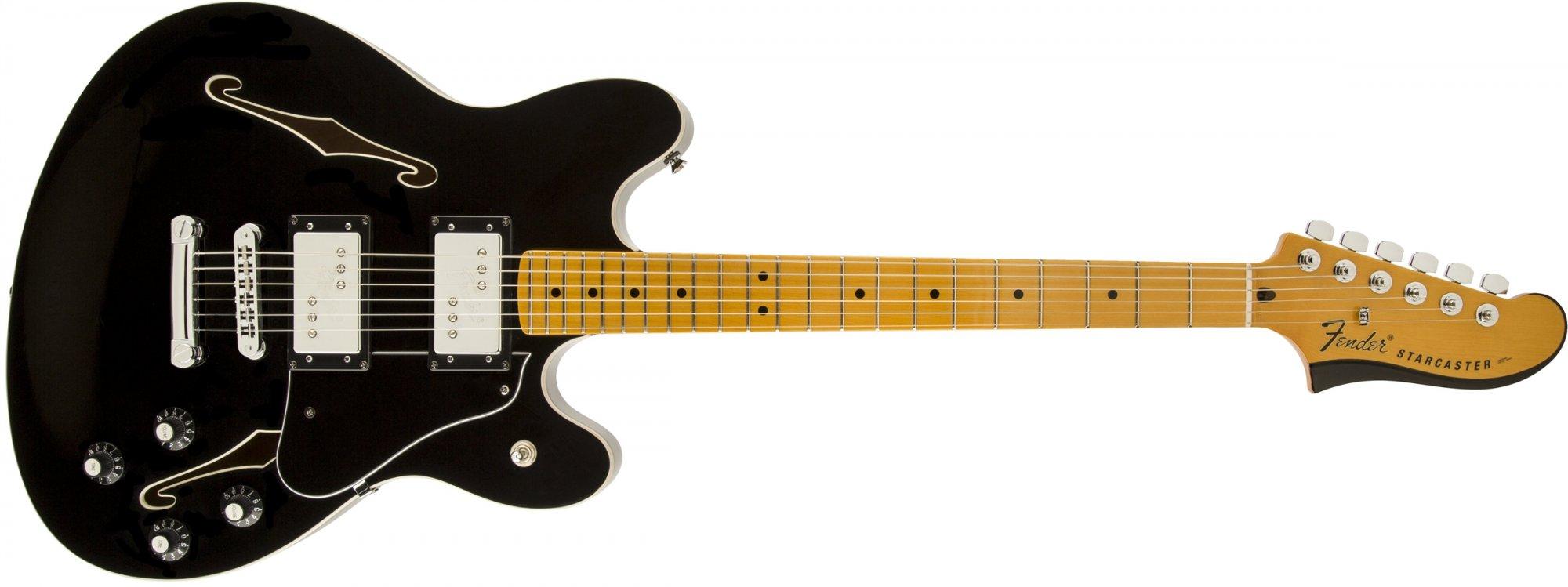 Fender Starcaster MN Black