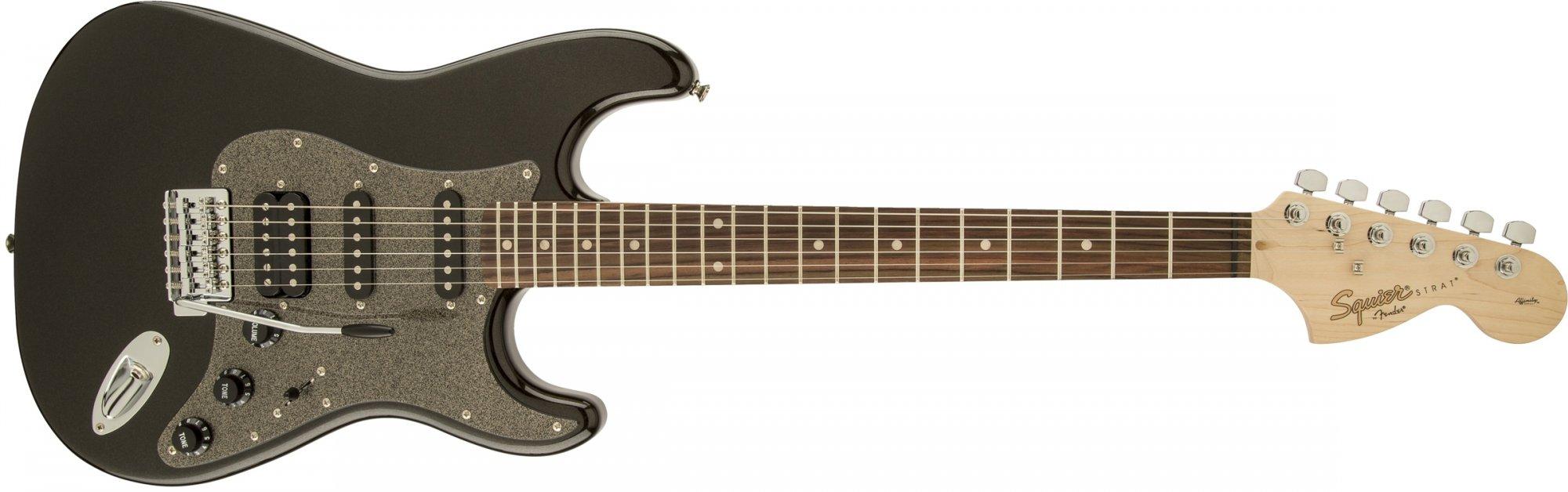 Fender Squier Affinity Stratocaster HSS Montego Black Metallic