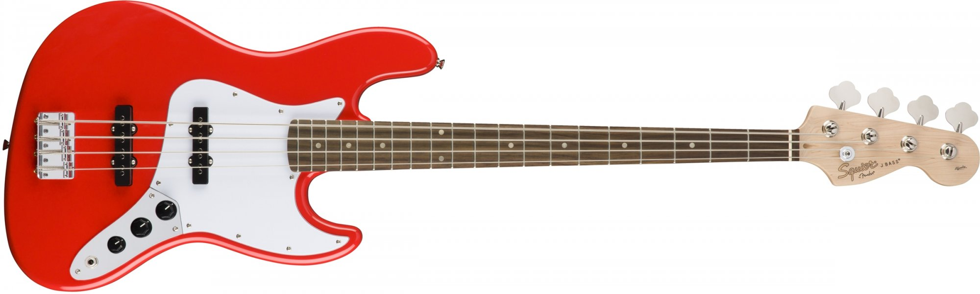 Fender Squier Affinity Jazz Bass Race Red