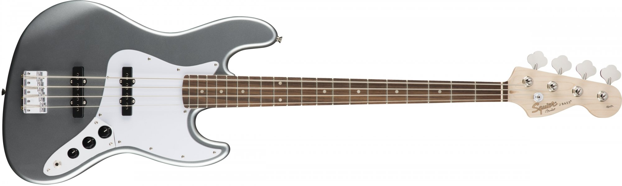 Fender Squier Affinity Jazz Bass Laurel Slick Silver
