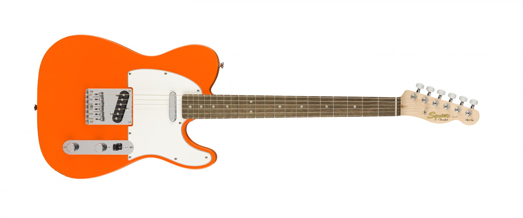 Fender Squier Affinity Telecaster Laurel Competition Orange