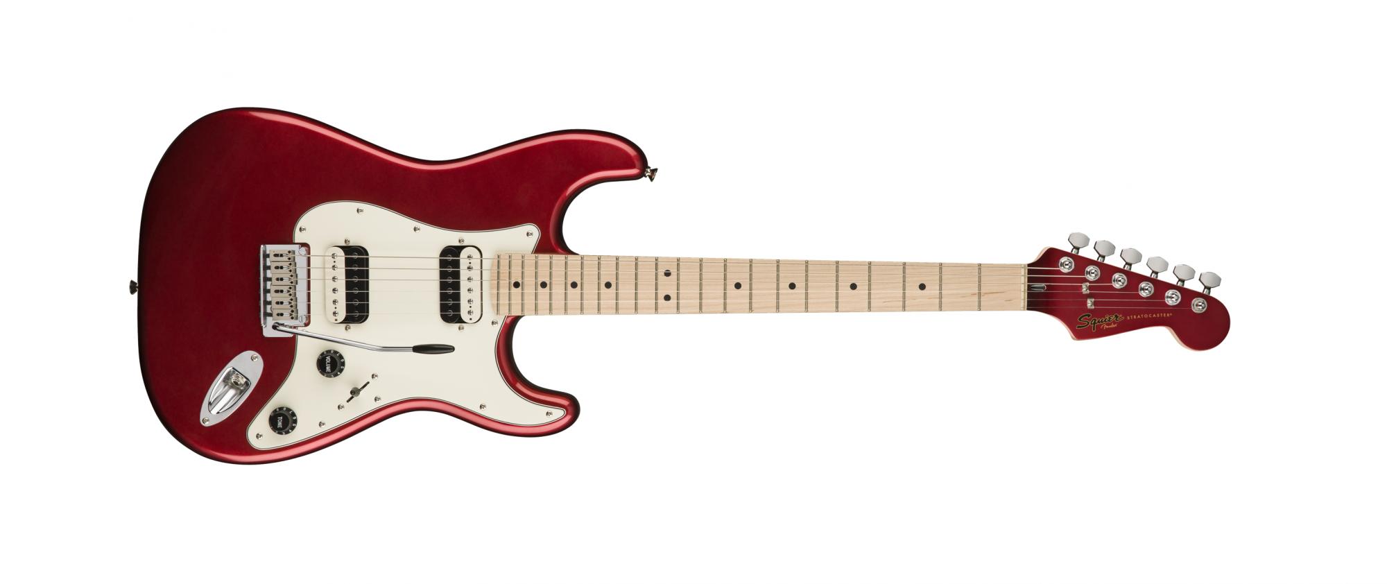 Fender Squier Contemporary Stratocaster HH Maple Fingerboard Dark Metallic Red