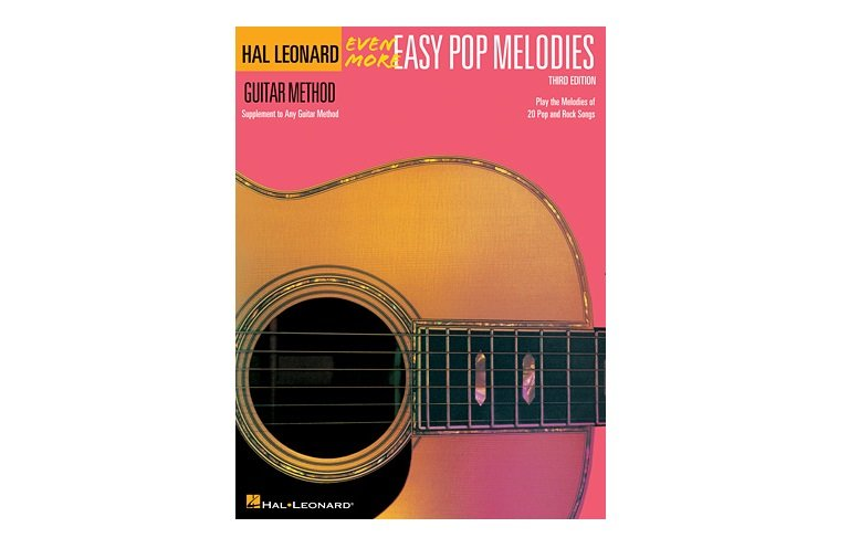 Hal Leonard Guitar Method Even More Easy Pop Melodies