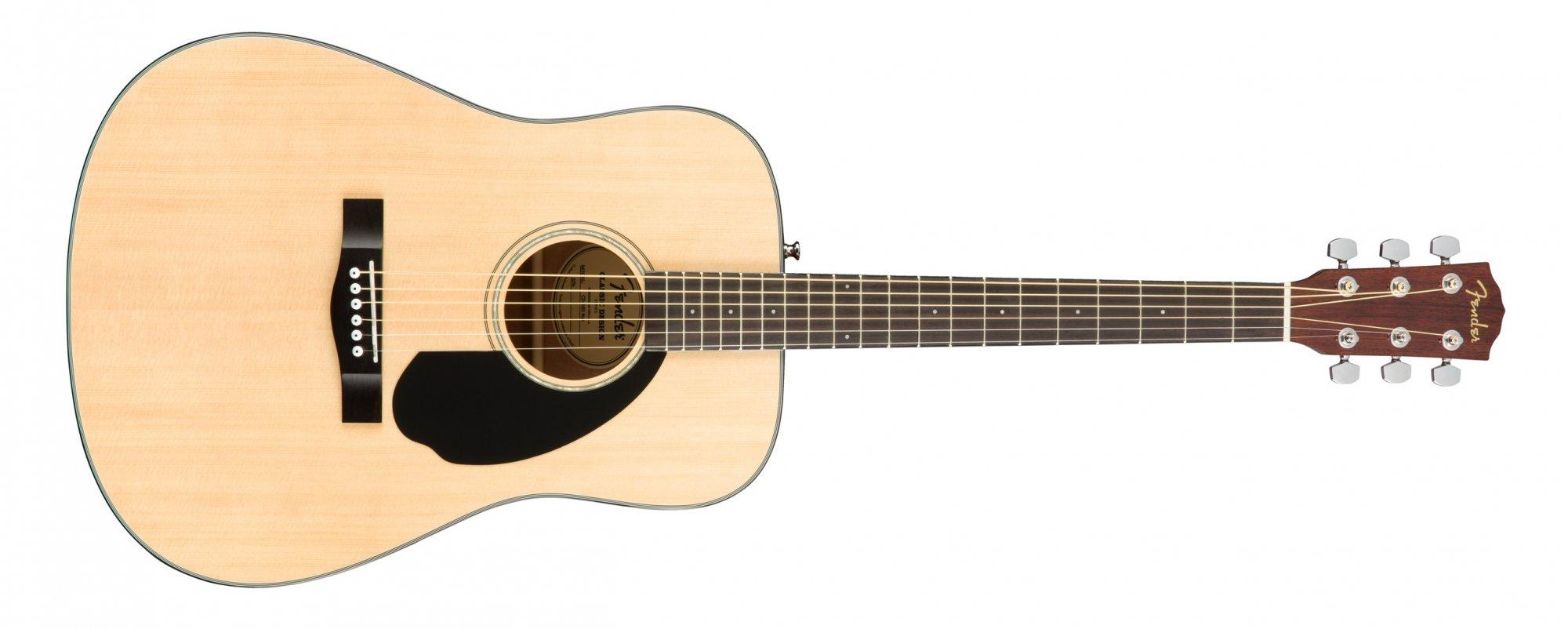Fender CD-60S Acoustic Guitar Natural