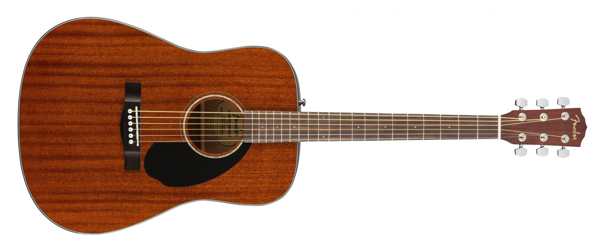 Fender CD-60S ALL-MAHOGANY Acoustic Guitar