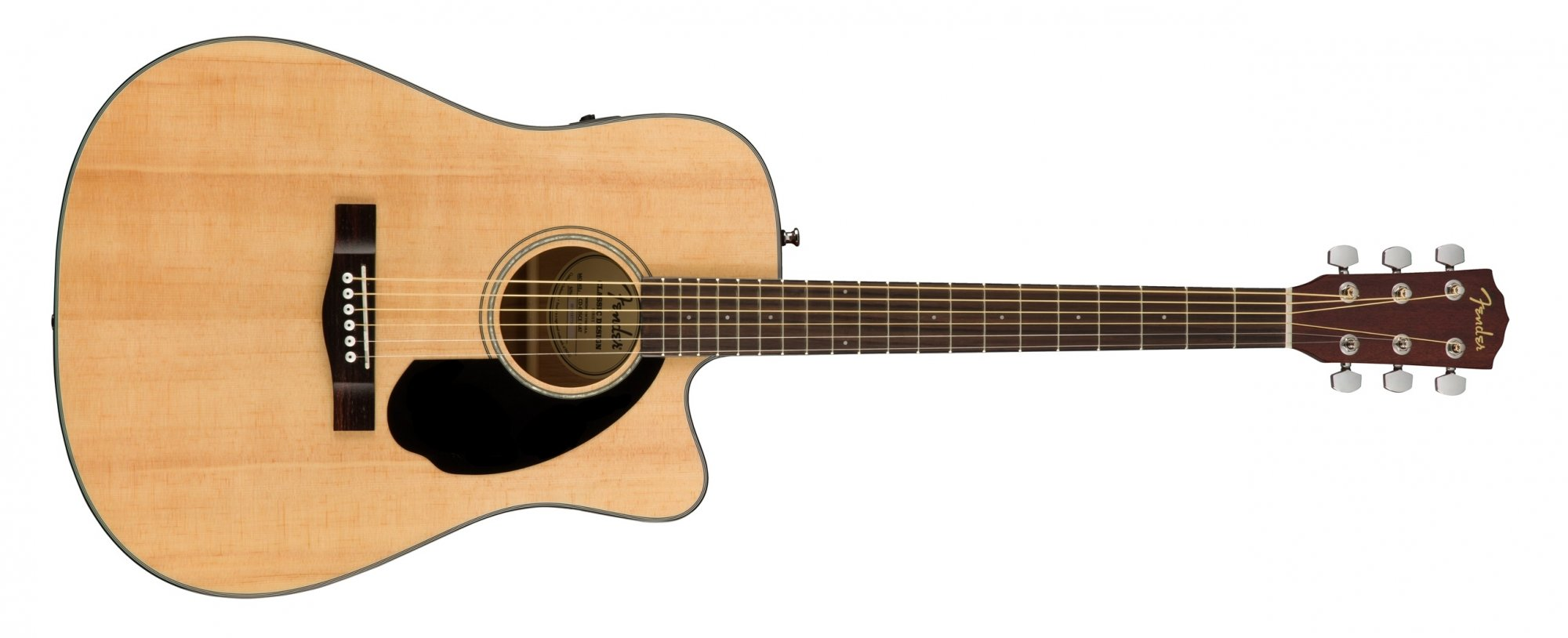 Fender CD-60SCE Acoustic Electric Guitar Natural