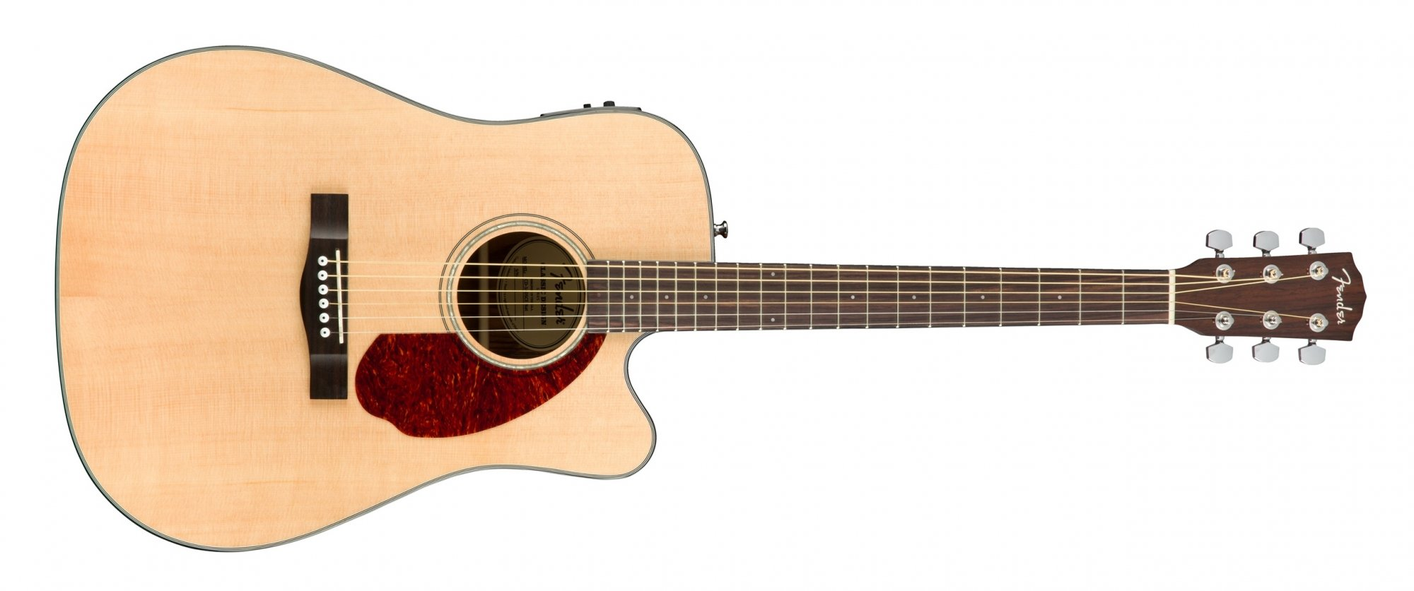 Fender CD-140SCE Acoustic Electric Guitar with Case Natural