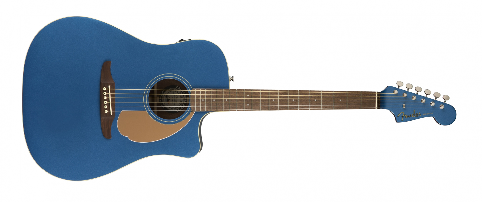 Fender Redondo Player Acoustic Guitar WN Belmont Blue