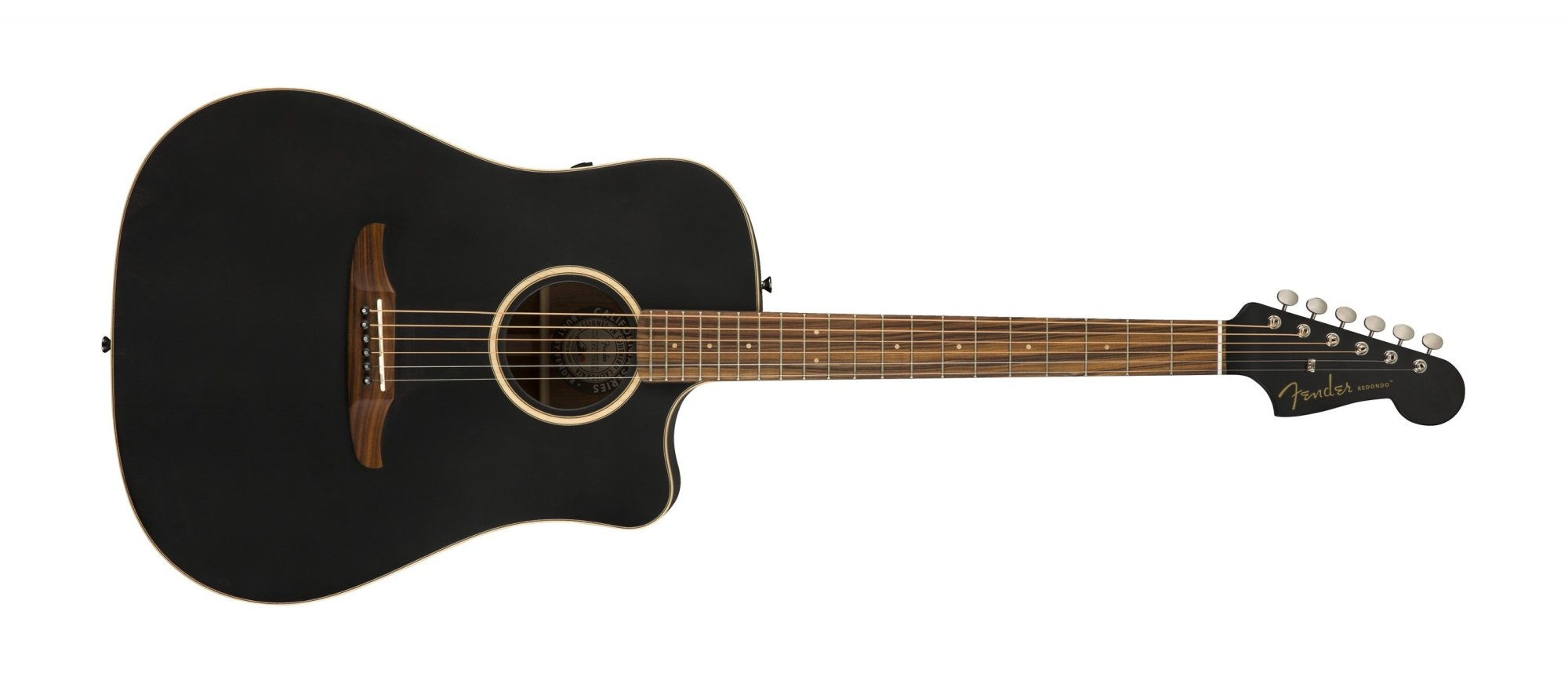 Fender Redondo Special Acoustic Electric Guitar PF Matte Black