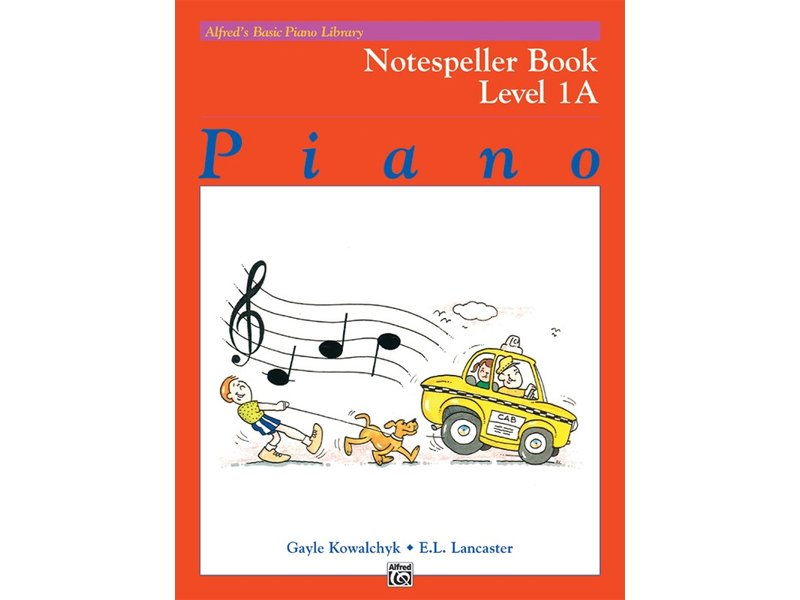 Alfred's Basic Piano Library Level 1A, Notespeller
