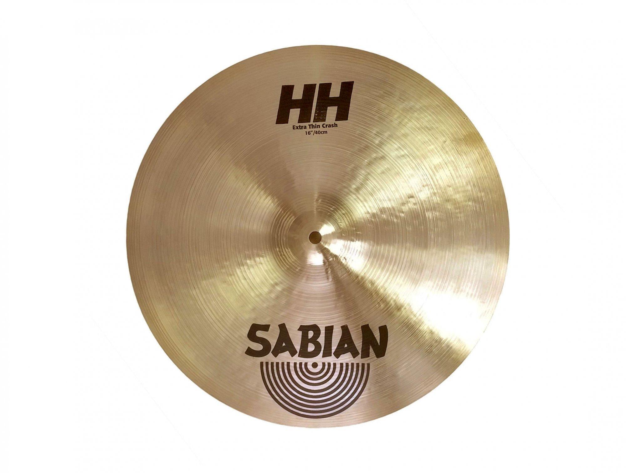 Sabian HH Extra Thin Crash Cymbal 16''