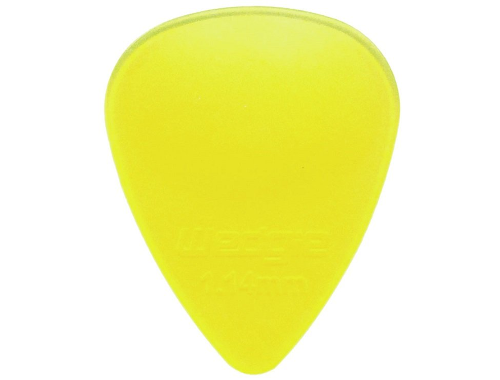 Wedgie Clear XL Picks 1.14mm, 12-Pack