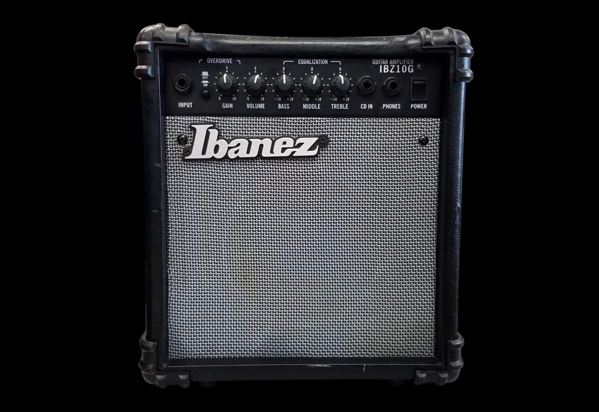 used ibanez ibz10g guitar combo amplifier. Black Bedroom Furniture Sets. Home Design Ideas