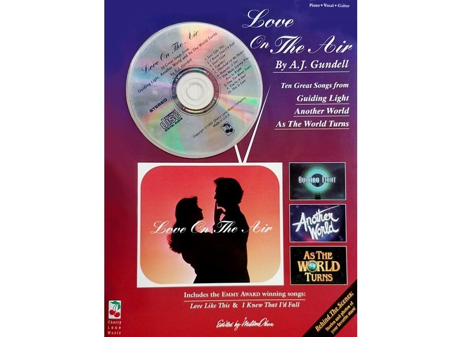 A.J. Gundell Love on the Air Piano/Vocal/Guitar with CD