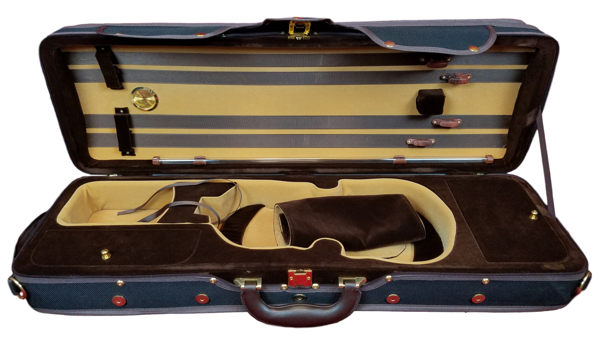 Deluxe Oblong 4/4 Violin Case