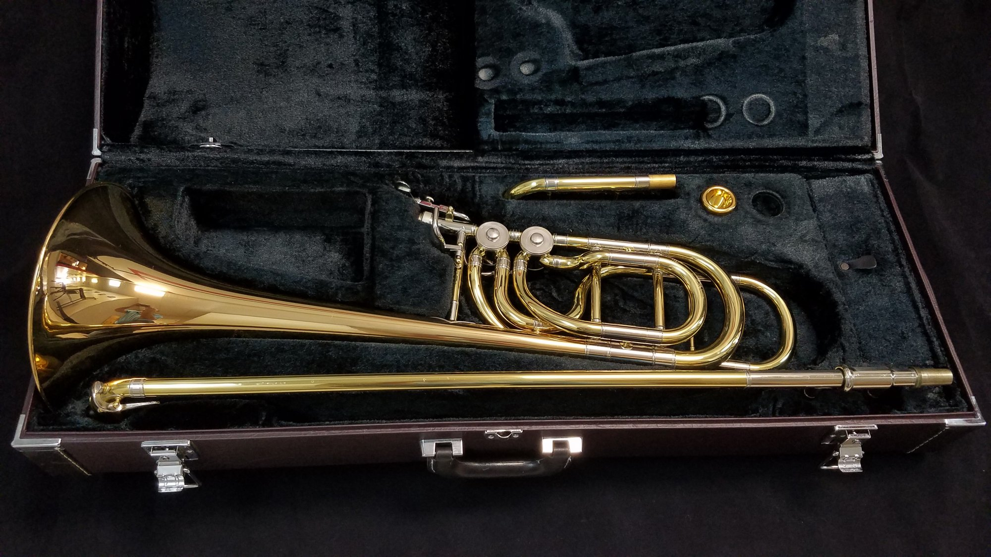Yamaha YBL-613H Double Rotor Bass Trombone