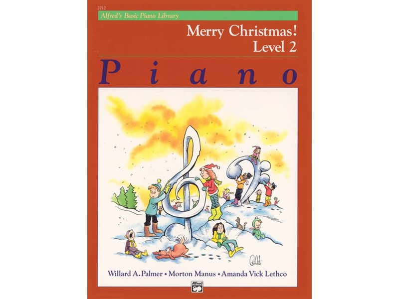 Alfred's Basic Piano Library Level 2 Merry Christmas!