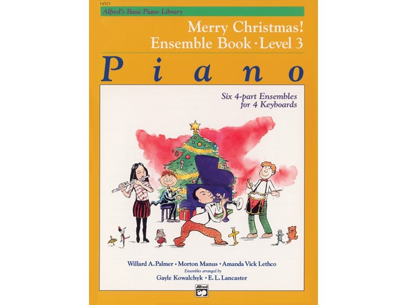 Alfred's Basic Piano Library Level 3 Merry Christmas! Ensemble