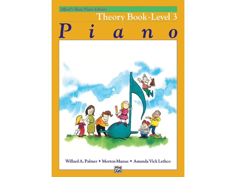Alfred's Basic Piano Library Level 3 Theory