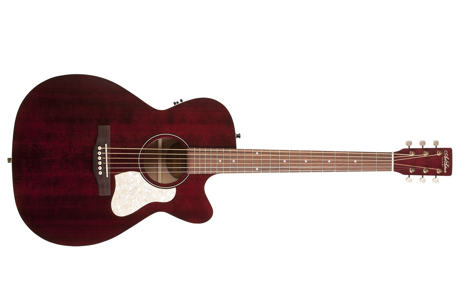 Art & Lutherie Legacy CW Q1T Acoustic Electric, Tennessee Red