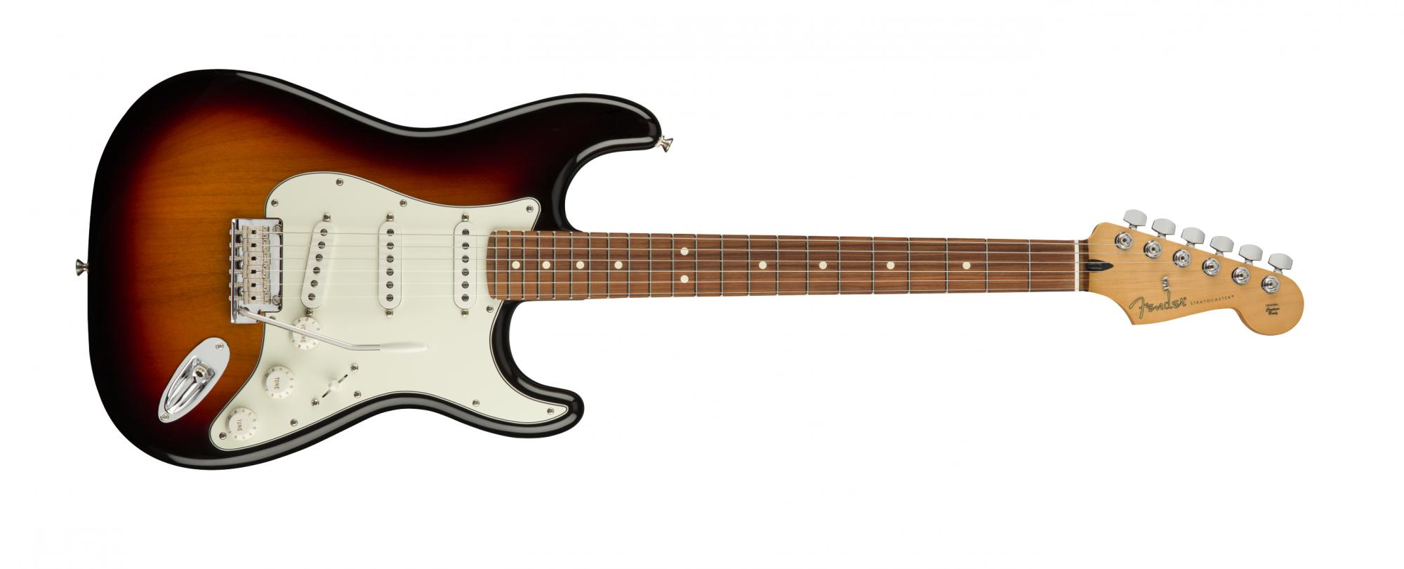 Fender Player Stratocaster, Pau Ferro, 3 Tone Burst