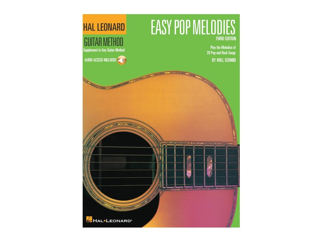 Hal Leonard Guitar Method Easy Pop Melodies with Audio Access