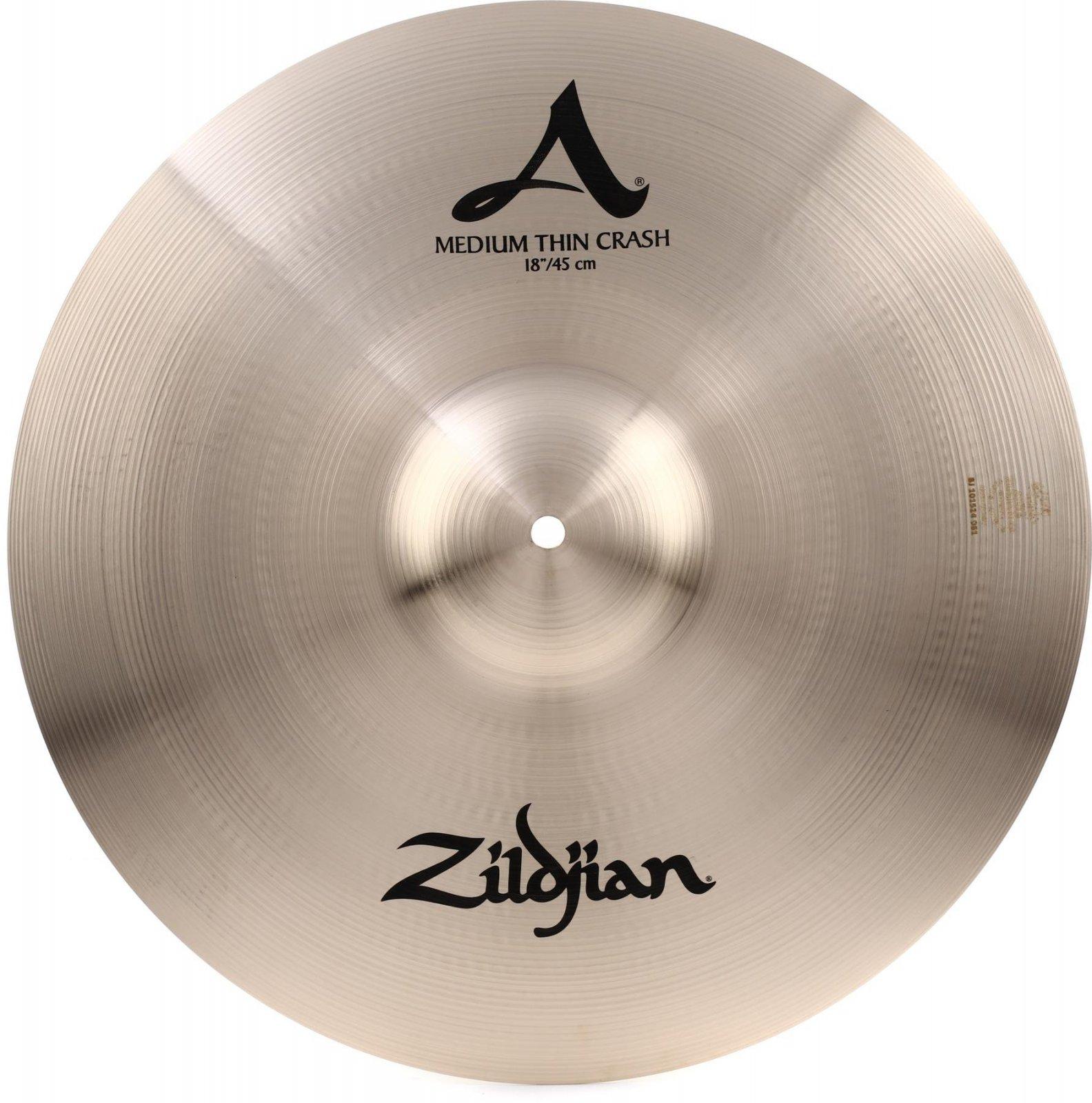 Zildjian A Series 18 Medium Thin Crash