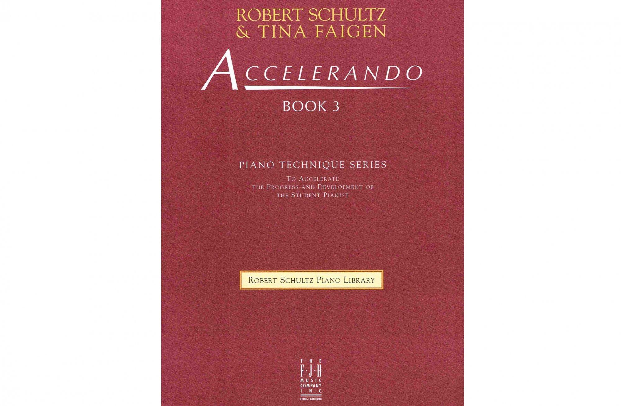 Accelerando Book 3, Piano Technique Series