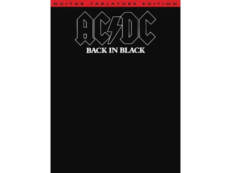 AC DC Back in Black Guitar Tab