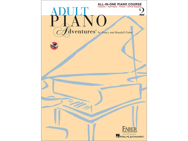 Faber Adult Piano Adventures All-In-One Piano Course, Book 2