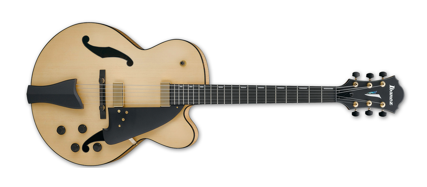 Ibanez AFC95NTF Contemporay Archtop, Natural Flat