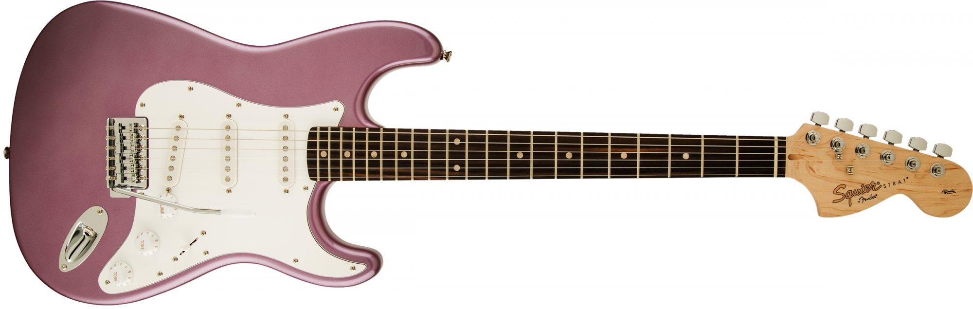 Fender Squier Affinity Stratocaster RW Burgundy Mist