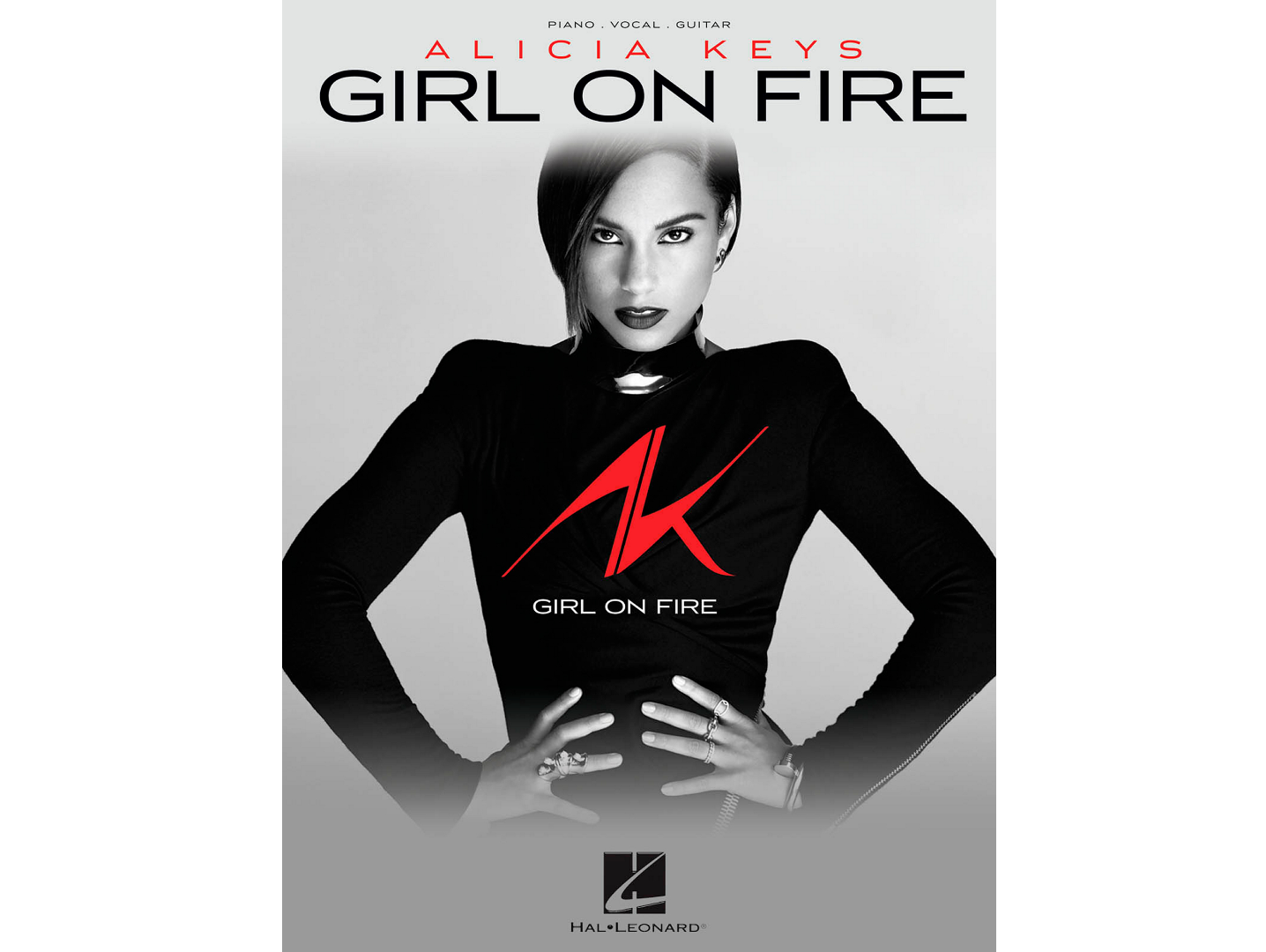 Alicia Keys Girl on Fire Piano/Vocal/Guitar