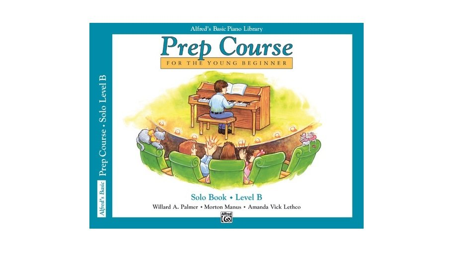 Alfred's Basic Piano Library Prep Course Level B Sacred Solo