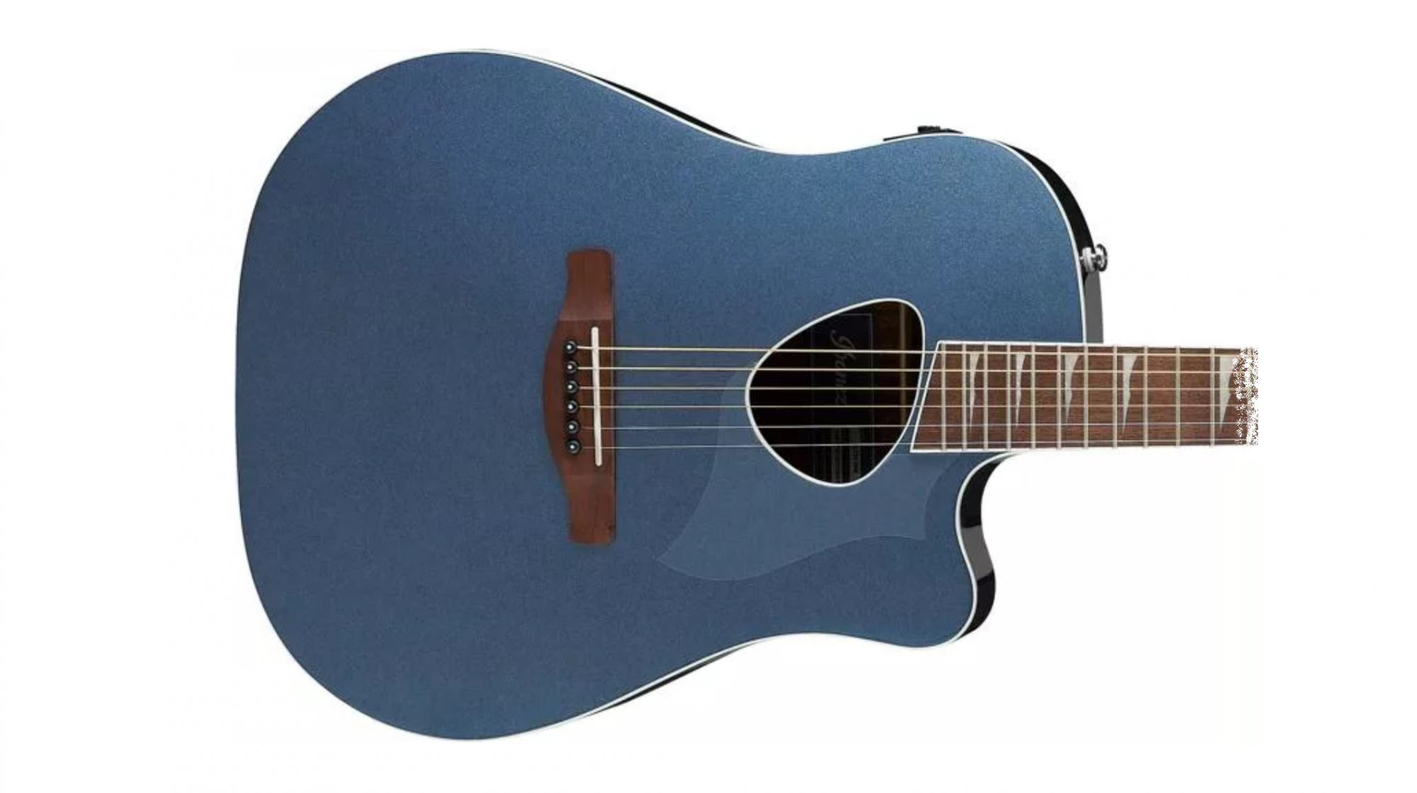 Ibanez Altstar ALT30 Acoustic Electric Guitar, Indigo Blue Metallic
