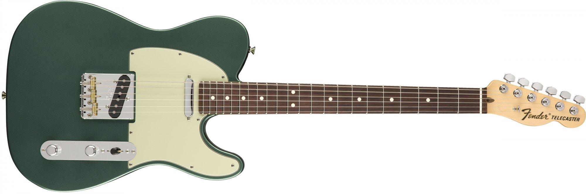 Fender American Special Telecaster RW Sherwood Green Metallic