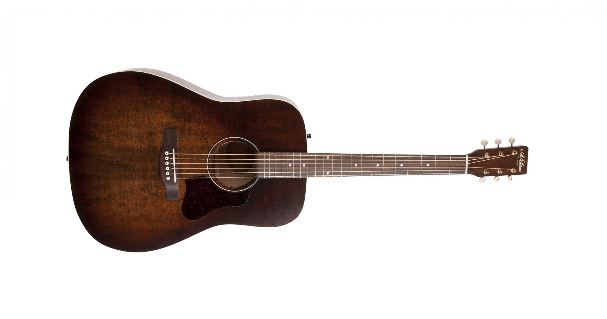 Art & Lutherie Americana Acoustic Guitar, Bourbon Burst
