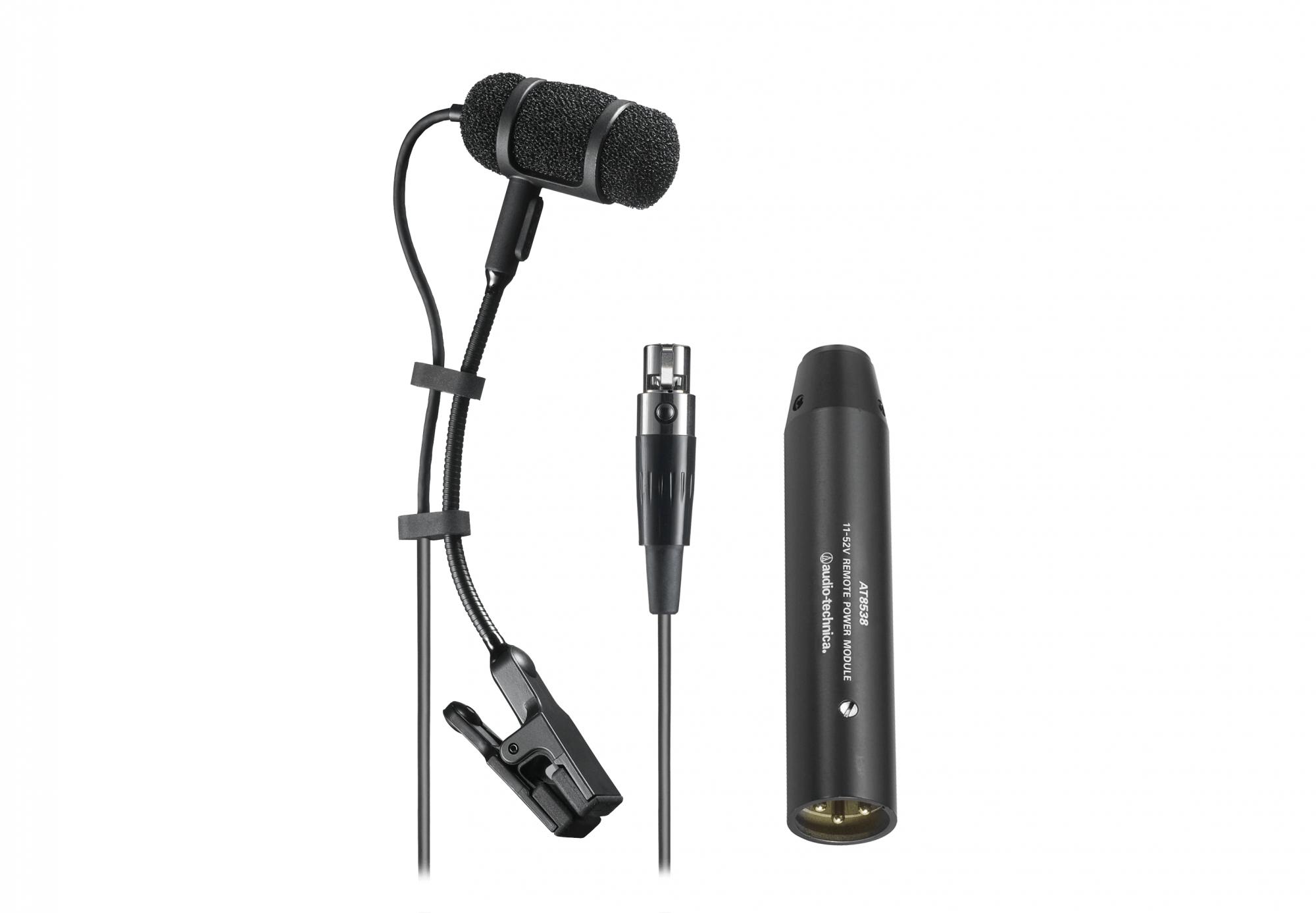 Audio Technica PRO35 Clip on Condenser Mic with XLR Adapter