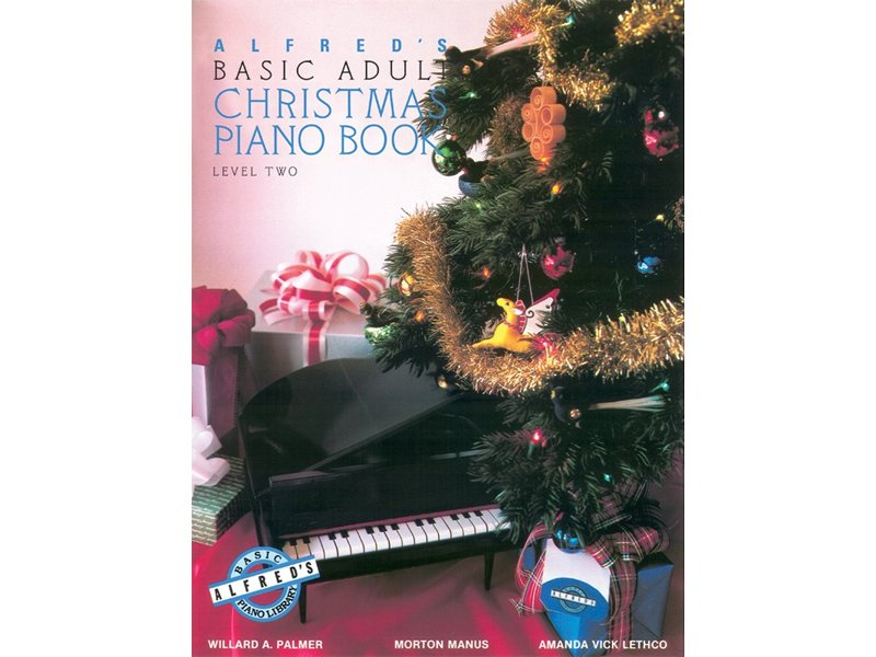 Alfred's Basic Adult Level 2 Christmas Piano Book