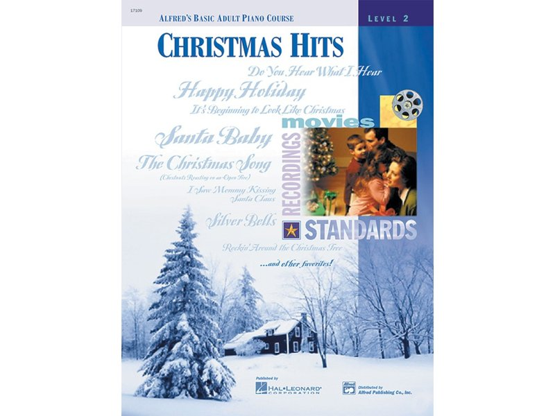 Alfred's Basic Adult Piano Course Level 2 Christmas Hits