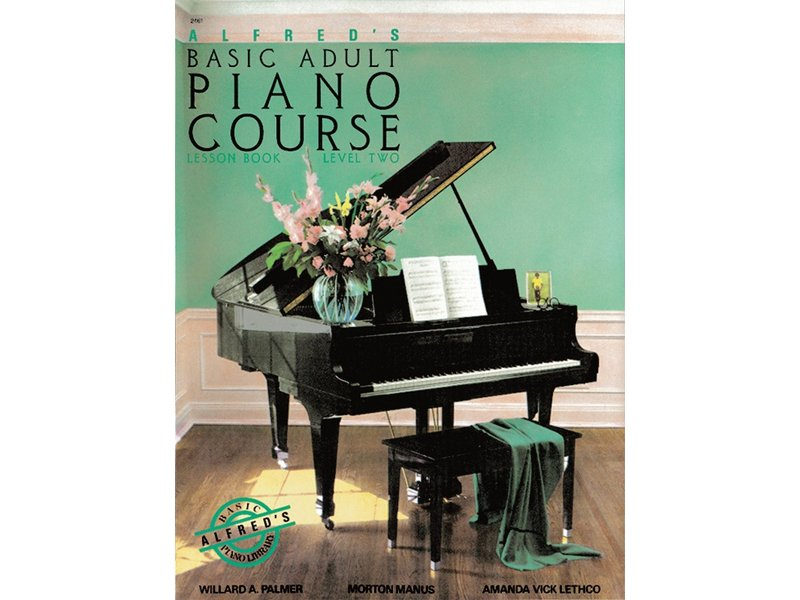 Alfred's Basic Adult Piano Course Level 2 Lesson