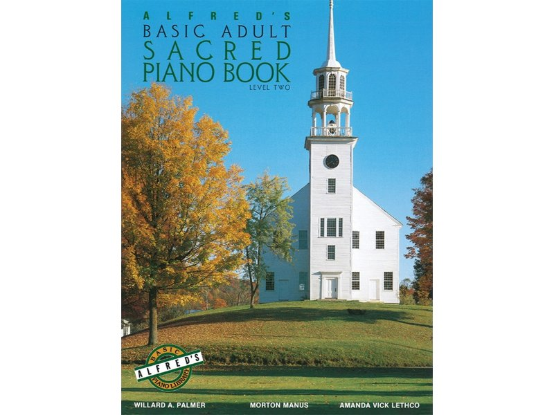 Alfred's Basic Adult Level 2 Sacred Piano Book