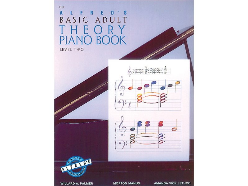 Alfred's Basic Adult Piano Course Level 2 Theory Book