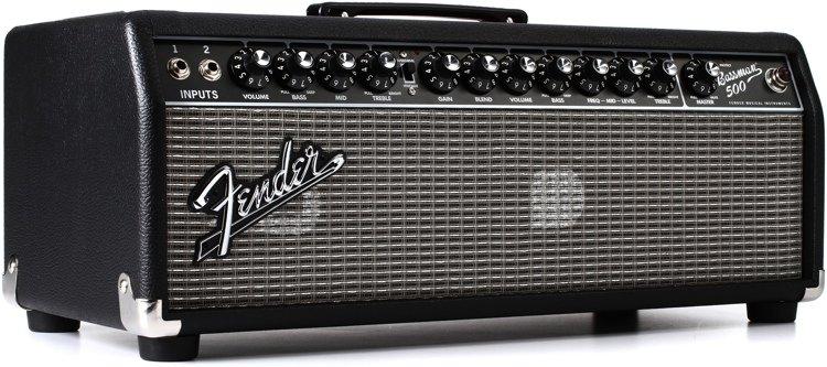Bassman 500 Bass Amplifier Head Unit