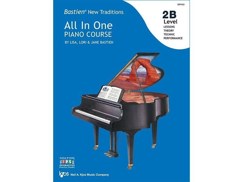 Bastien New Traditions: All In One Piano Course Level 2B