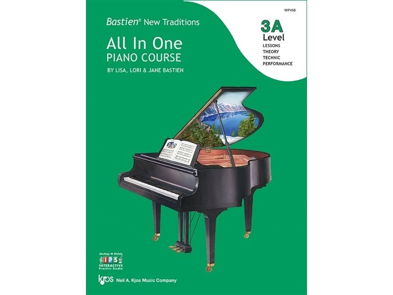Bastien New Traditions: All In One Piano Course Level 3A