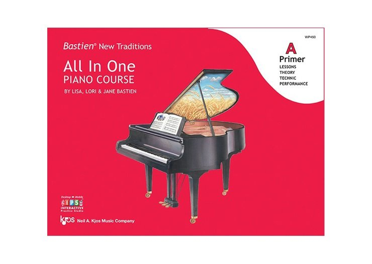 Bastien New Traditions: All In One Piano Course Primer A